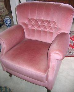 antiker Sessel Ohrensessel über 100 Jahre alt altrosa gut erhalten   eBay