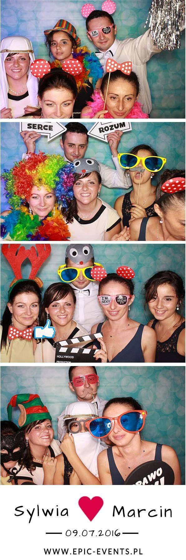 Spójrzcie jak bawili się z nami goście weselni Sylwii i Marcina :)   www.epic-events.pl  #fotobudka #photobooth #smile #fun #zdjęcie #wesele #atrakcjanawesele