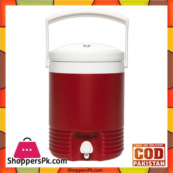 Buy Igloo Legend 2 Gallon Drinks Cooler Insulated Beverage Jug Red 02214 At Best Price In Pakistan Beverage Cooler Gallon Insulated