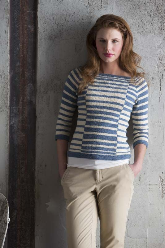 Albers Pullover - Knitting Daily
