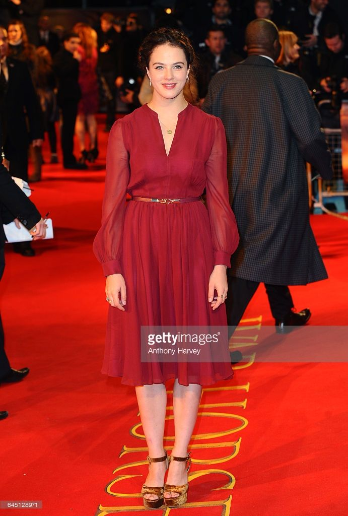 Jessica Brown-Findlay attends the War Horse Premiere on January 8, 2012 at the