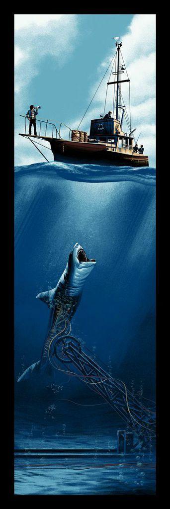 Mark Englert's Amazing 'Jaws' Poster