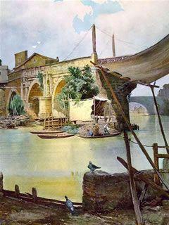 Ponte Rotto - Ettore Roesler Franz
