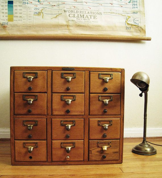 Again, the card catalog obsession: Vintage Libraries, Libraries Card, Woods Cabinets, Children, Drawers Remington, Catalog Cabinets, Card Catalog, Bureau, Vintage Cards