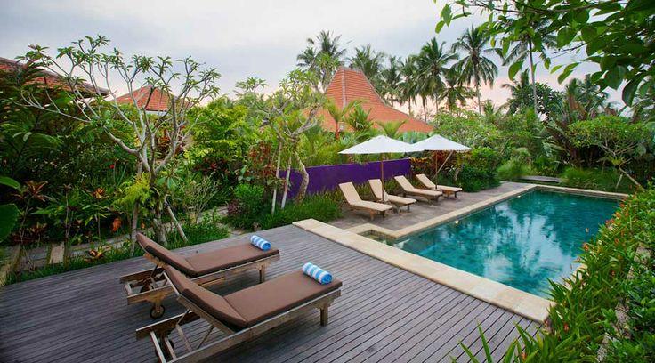 pool and deck - UmaJati - hotel in Bali, Indonesia