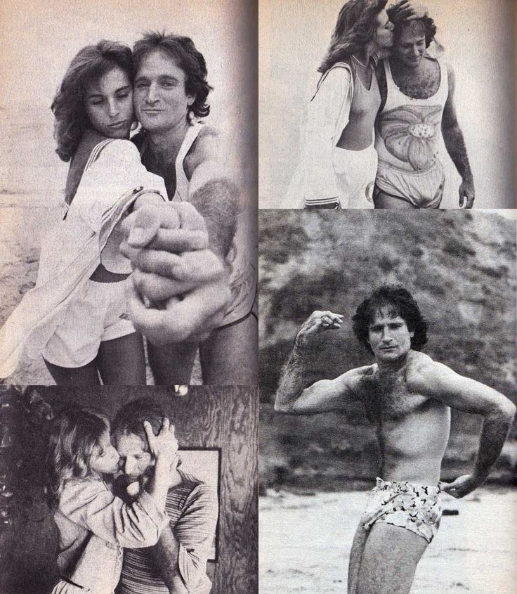 Robin Williams and Valerie Velardi   Rare, weird & awesome celebrity photos