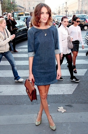 stella mccartney - jean dress