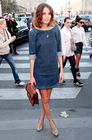 stella mccartney - jean dress