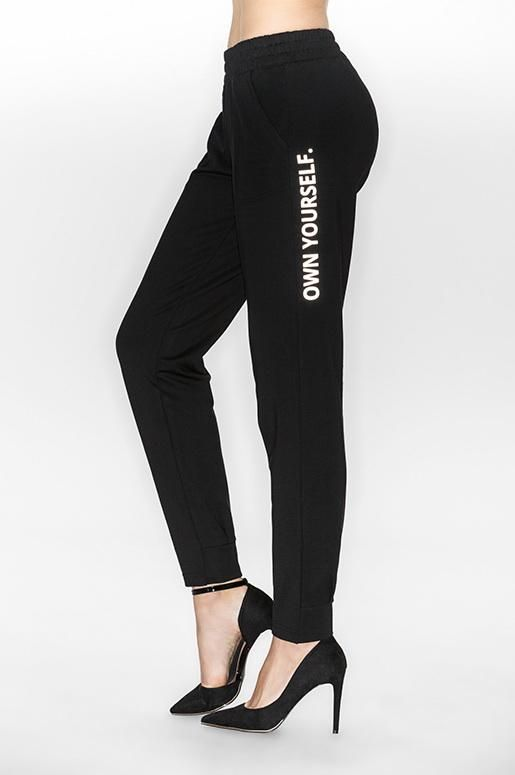 Speaking of resolutions... it's time to #ownyourself. These versatile joggers are both fashionable and comfortable and can be paired with both your casual and workout wardrobes.   Throw these joggers on post workout, or pair with your casual wardrobe for the perfect weekend look.