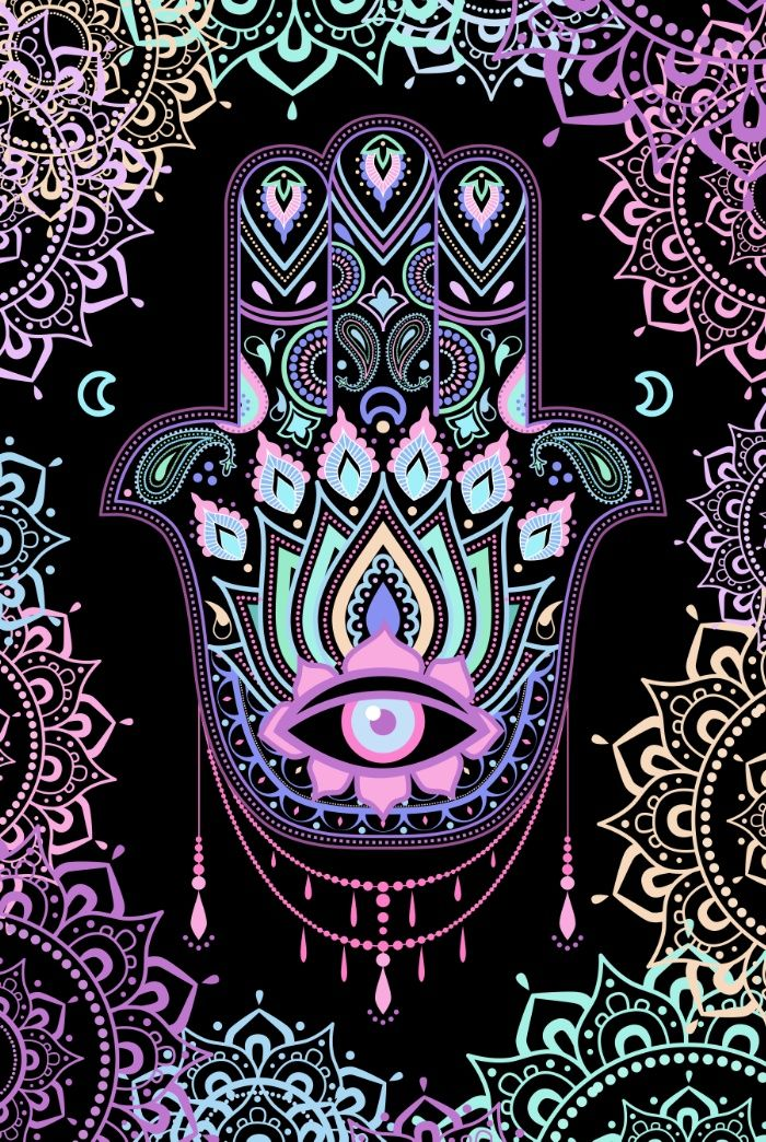 Intellectual property of Marta Olga Klara © All rights reserved<br/> <br/> A palm-shaped amulet, an image recognized and used as a sign of protection in many times throughout history, the hamsa is believed to provide defense against the evil<br/> <br/> Hamsa, amulet...