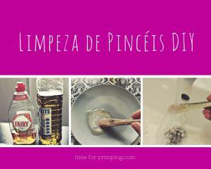 Limpar Pincéis de Maquilhagem | Time for Primping