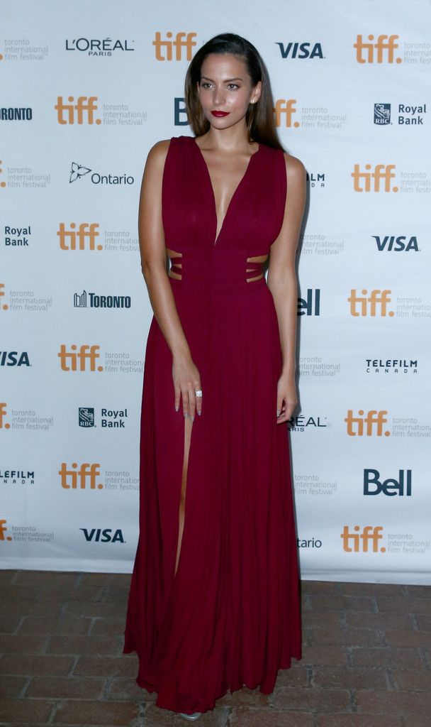 "Actress Genesis Rodriguez attends the ""Tusk"" Premiere during the 2014 Toronto International Film Festival at Ryerson Theatre on September 6, 2014 in Toronto, Canada."