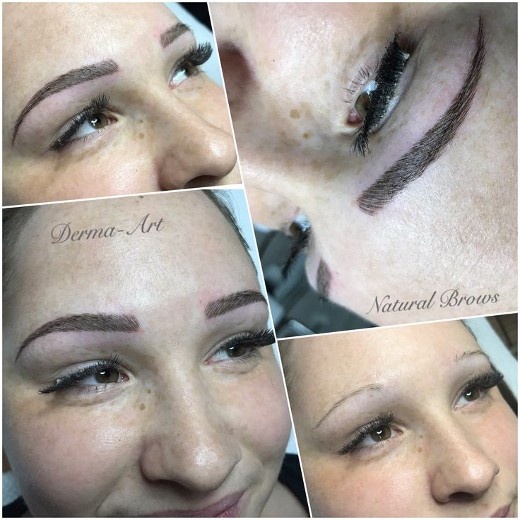 DermaArt Natural Brows•eyebrow tattoo•permanentmakeup•www.brisaart.hu🇭🇺