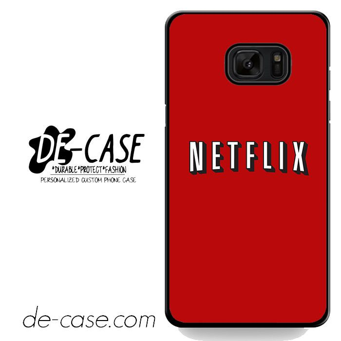 Netflix DEAL-7635 Samsung Phonecase Cover For Samsung Galaxy Note 7