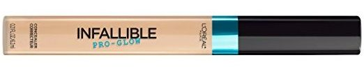 L'Oreal Infallible Pro Glow Concealer  http://www.musingsofamuse.com/2017/05/loreal-infallible-pro-glow-concealer-amazon.html