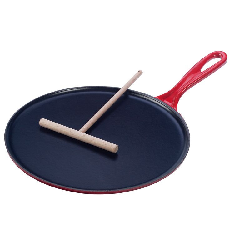 Crepe Pan Cherry by Le Creuset