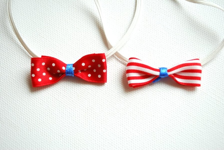 $8 nautical headband: Emma Bows, Satin Bows