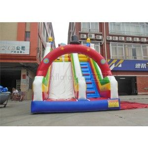 inflatable slide popolar,cartoon inflatable slide,inflatable cartoon slide