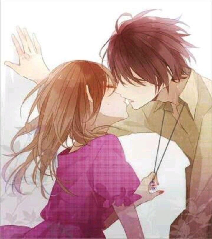 Милые картинки с поцелуями аниме, сделать школьный портфель