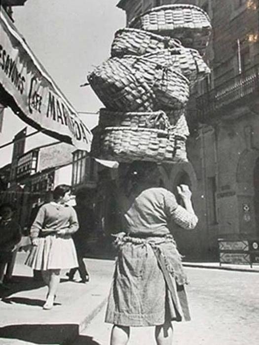 Foto antigua de Santiago de Compostela