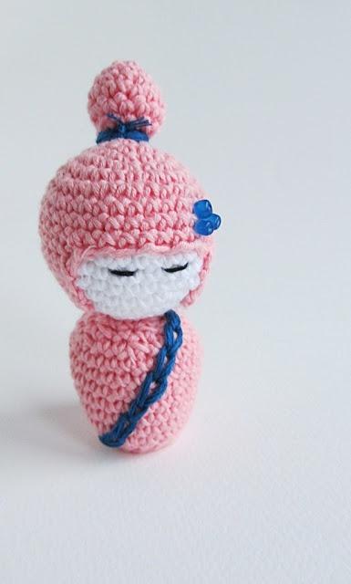 Amigurumi Kokeshi Doll Pattern