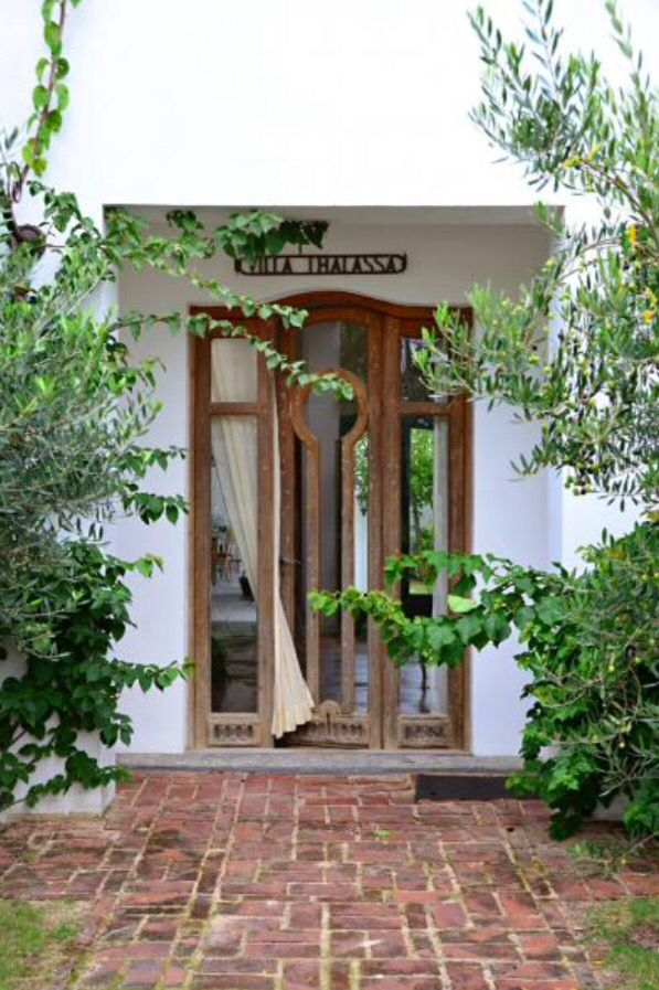 """This amazing front door is from our feature """"Return to Grace"""""""