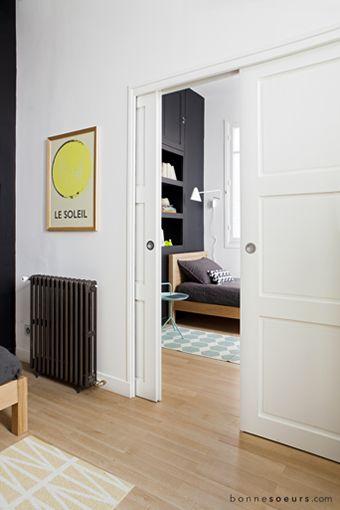 25 best ideas about porte coulissante galandage on pinterest portes coulissantes en bois. Black Bedroom Furniture Sets. Home Design Ideas