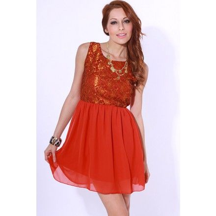 Sequin coral dress 49.95 at Destiny