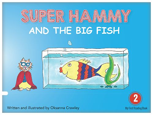 The mighty little hero can do great things ― such as saving the big fish.