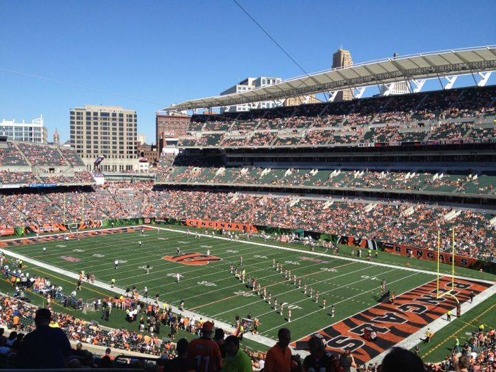 If you're a football fan, be sure to catch your favorite team play the Bengals at Paul Brown Stadium!
