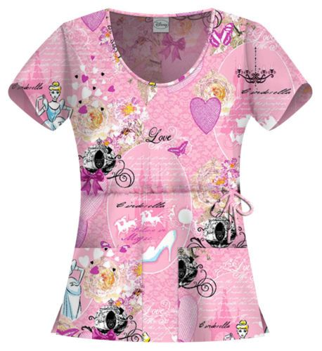 Disney Scrubs | ... Cinderella Disney Scrubs by Cherokee Tooniforms | Pediatric Scrubs