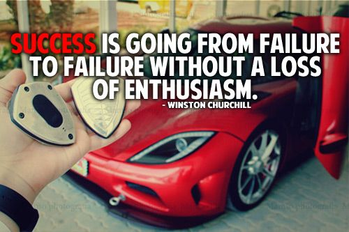 Success is going from failure to failure without a loss of enthusiasm. – Winston Churchill  http://www.prosperityteam.co/freevideoreveals/?id=mrhomebiz&tag=