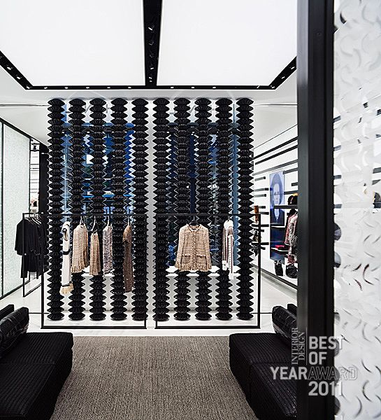 Retail Chanel Soho By Peter Marino Architect Store Interior DesignInterior
