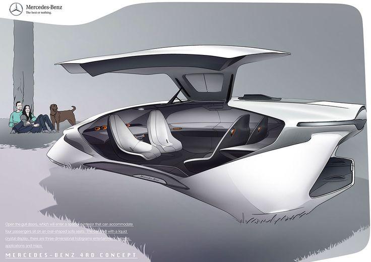 Mercedes-Benz 4 Rotors Concept on Behance