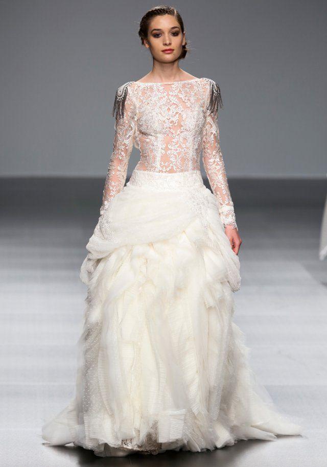 Robe de mariée de princesse Jordi Dalmau 2016 - Marie Claire