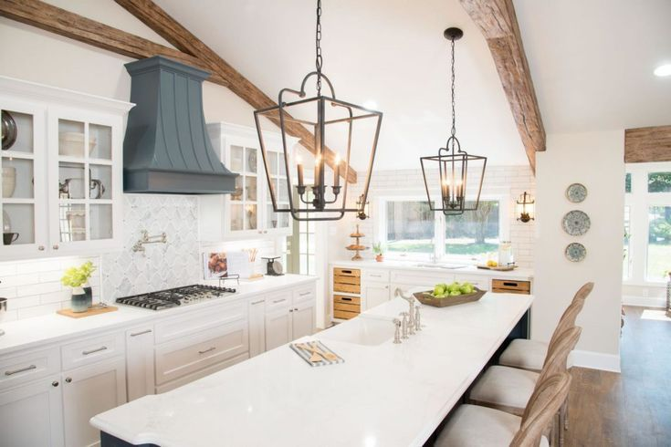 The Best Fixer Upper Kitchens. Beautiful farmhouse…