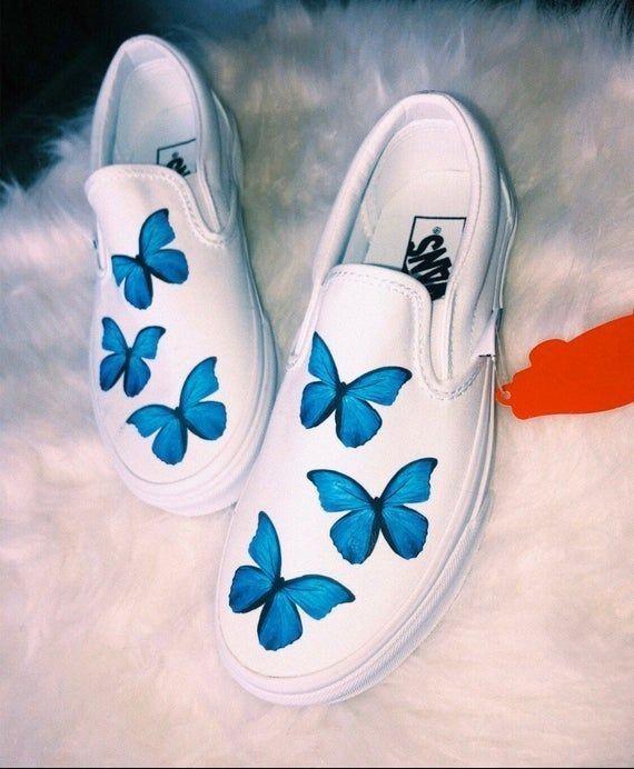 vans mariposas