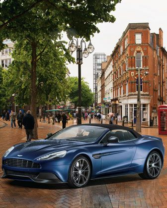 Gorgeous automobile!  Neiman Marcus 2014 Aston Martin Vanquish Volante $344,500 NMO5491 http://www.neimanmarcus.com/christmasbook/fantasy.jsp?cid=CBF13_O5491&cidShots=m,a,b,c,z&r=cat48140738&rdesc=The%20Fantasy%20Gifts&pageName=License_to_Thrill&icid=CBF13_O5491