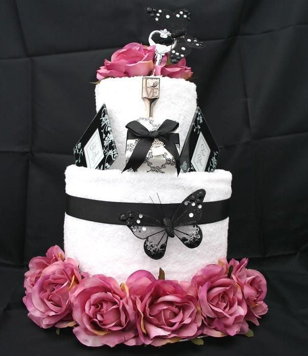 towel wedding cakes 17 best images about black and pink wedding on 21113