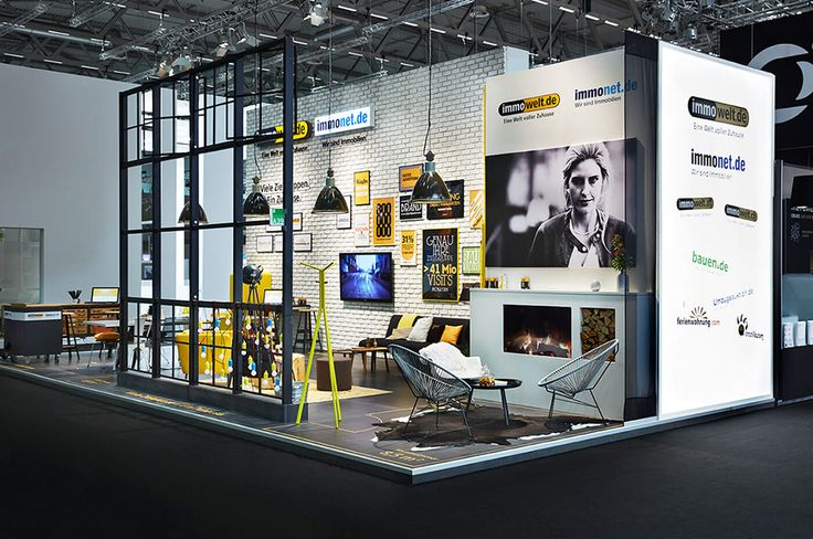 Immowelt AG / Messestand dmexco 2015 on Behance