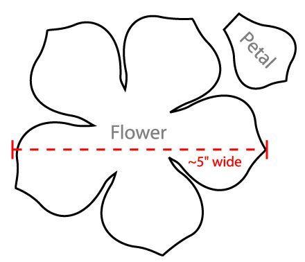 Flower petal shape template acurnamedia flower petal shape template mightylinksfo