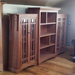 Bookcase, Arts And Crafts by Kenny Lipowski