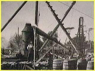 A 19th Century Excavation of the money pit on Oak Island. #MysteryMonday