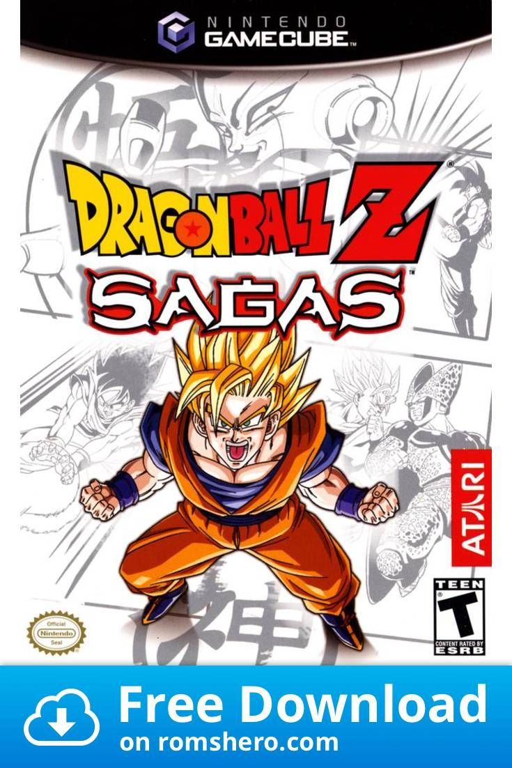 Download Dragon Ball Z Sagas Gamecube Rom Dragon Ball Z Dragonball Z Sagas Saga