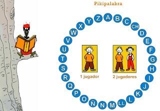 PASAPALABRA. Un juego online para repasar y aprender palabras. Del Departamento de Educación de Navarra. http://dpto.educacion.navarra.es/piki/juegos/pikipalabra/pikipalabra.swf
