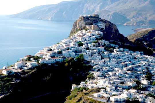 VISIT GREECE|  Castle of Skyros, #skyros  #greekcastles #Greece #sporades