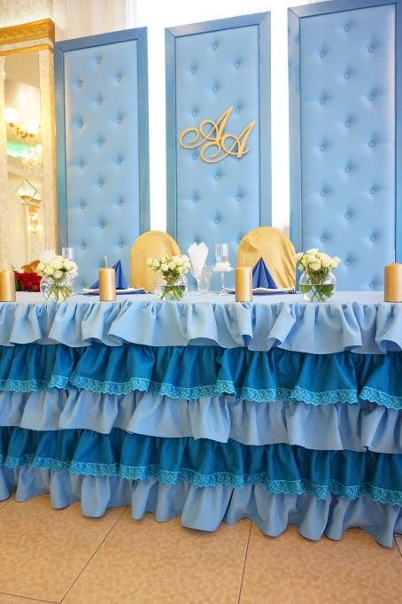 Королевская свадьба в голубом цвете от Only Weddings  vk.com/onlyweddings_nn