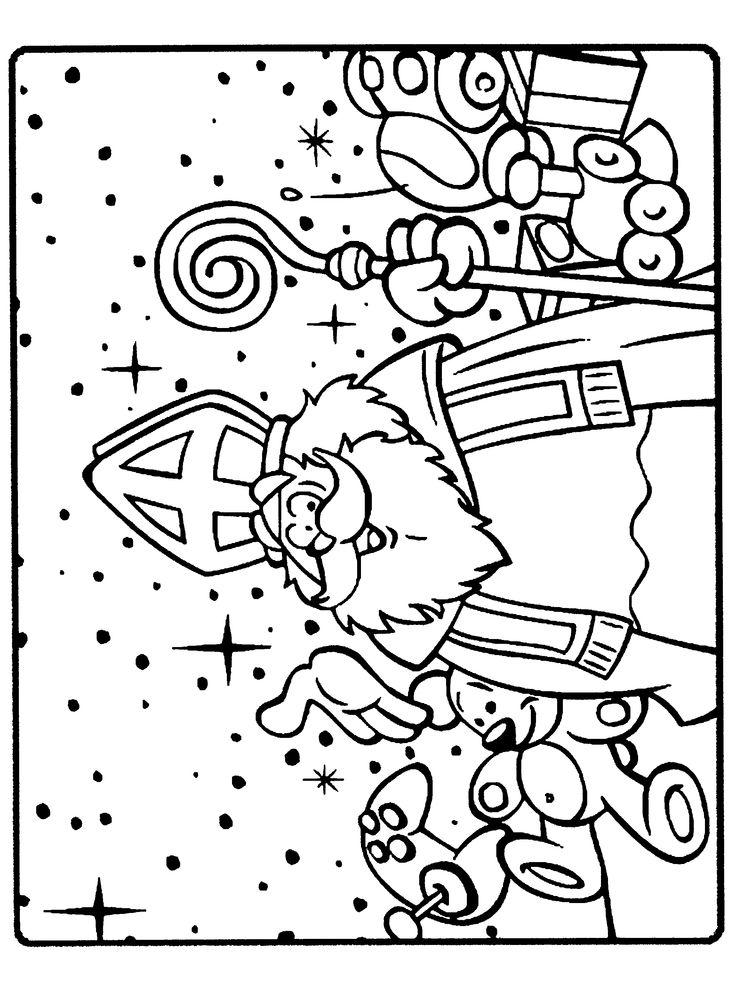 Cijfer Kleurplaat Zwarte Piet 57 Best Images About Sinterklaas Kleurplaten On