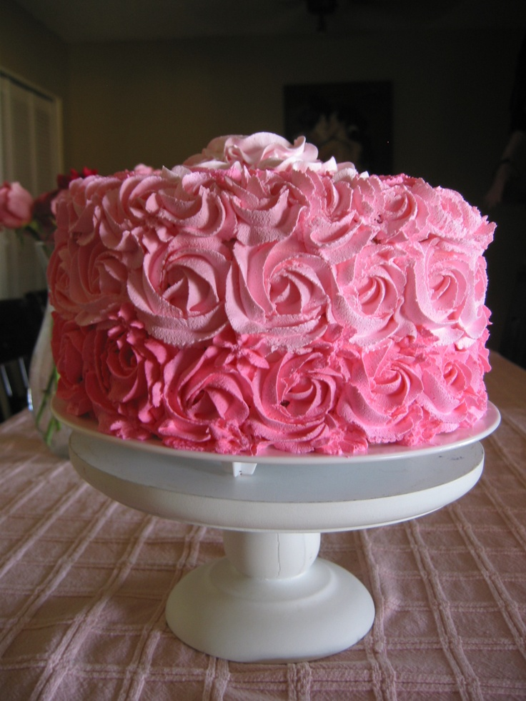 Cake Decorations Pink Roses : Best 20+ Rose swirl cake ideas on Pinterest Swirl cake ...