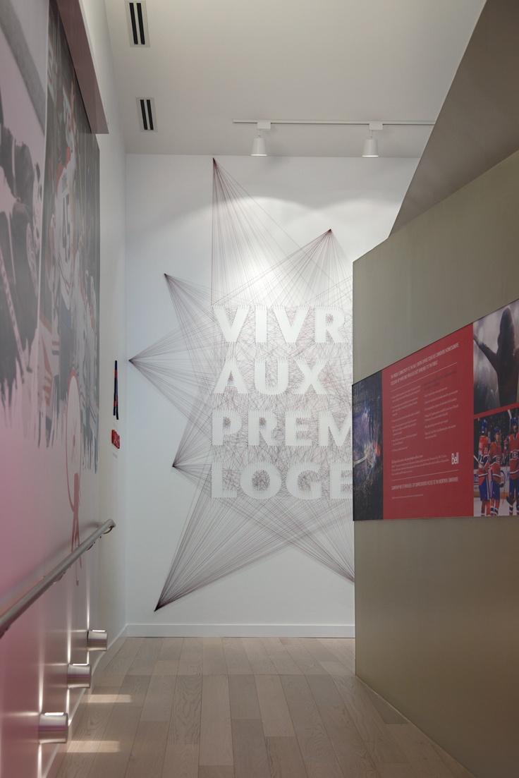 """Bureau de ventes du projet """"Tour des Canadiens"""", conçu par Humà Design / Photos © Pascale Robert"""